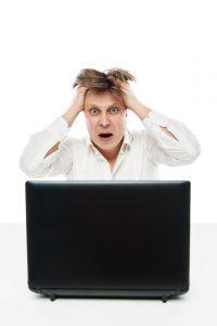 Stressed out employee ID 45532228 © Julenochek | Dreamstime.com