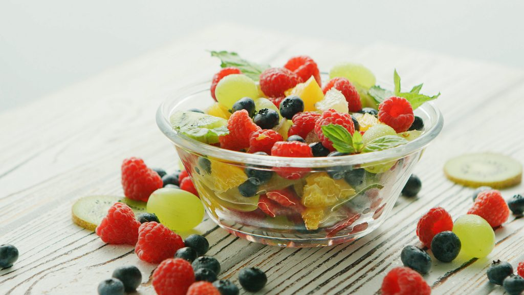Energize from Hydration with fruit