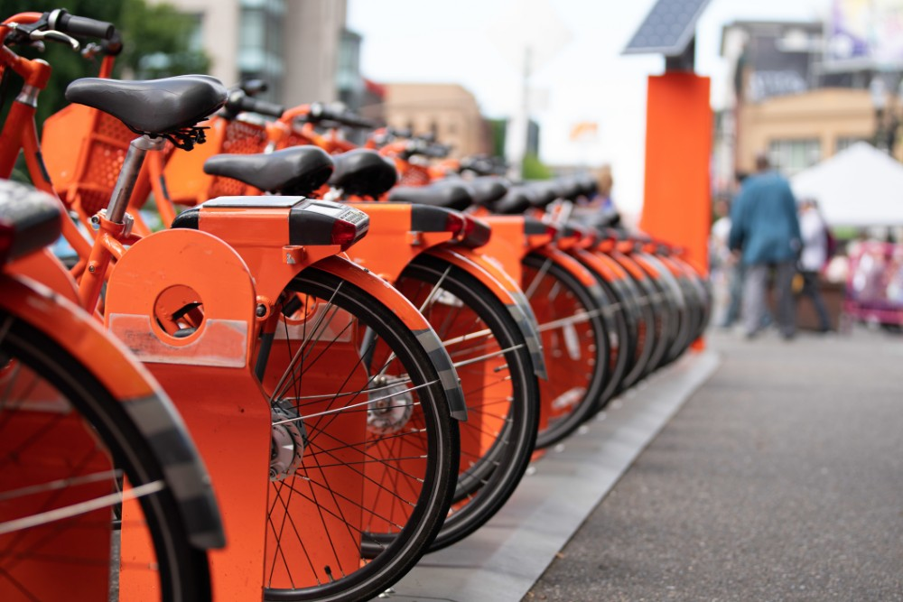 bike ride share image Photo 126971200 © Alexander Oganezov - Dreamstime.com
