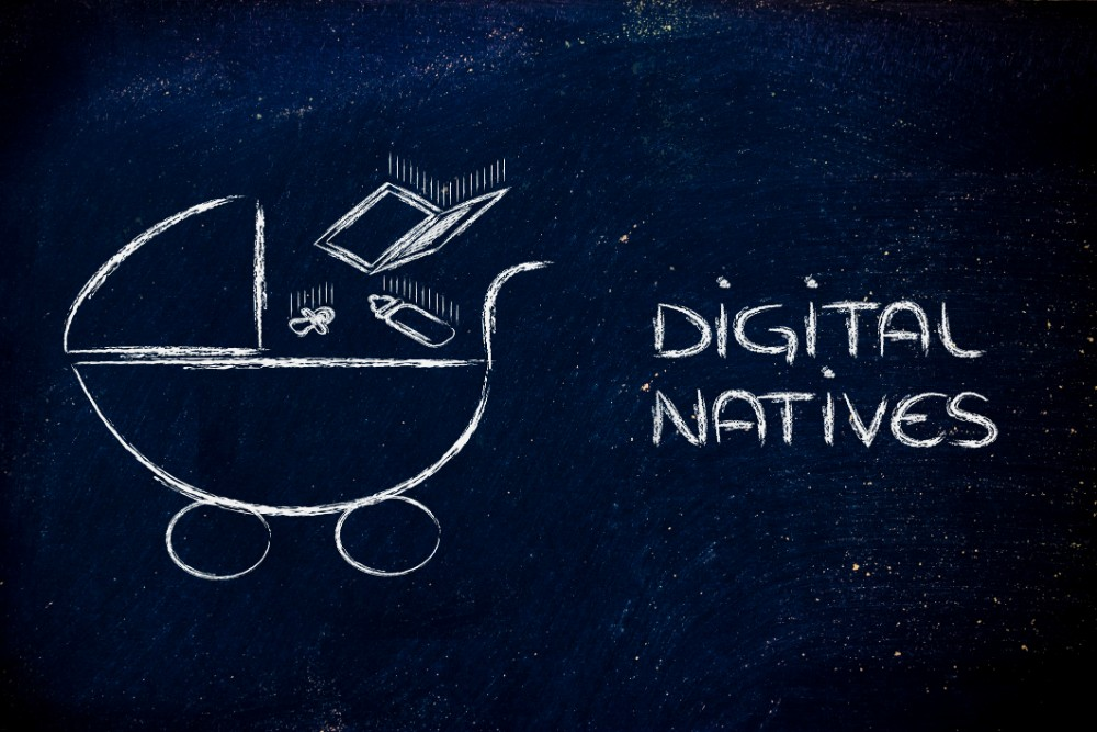 DIgital Natives wor dimage Photo 37106693 © Faithiecannoise - Dreamstime.com