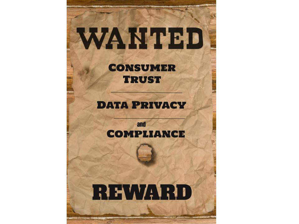Wanted poster of compliance